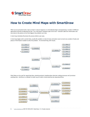 Mind Maps Fillable Fill Online Printable Fillable Blank Pdffiller