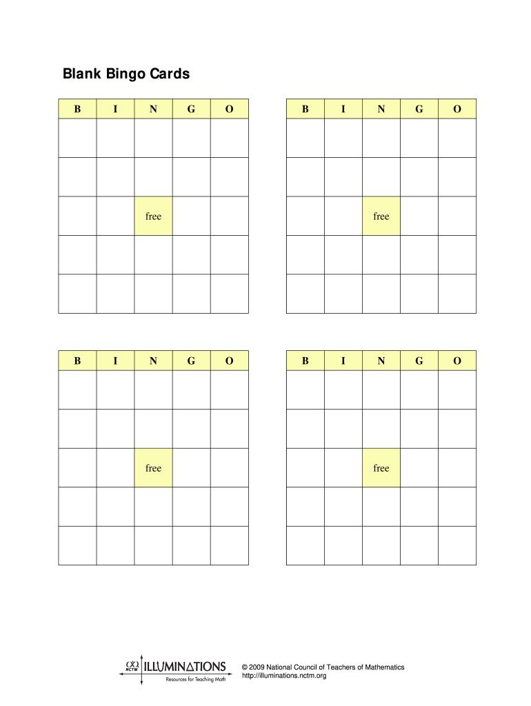 Fillable Bingo Card Pdf Fill Online Printable Fillable Blank Pdffiller