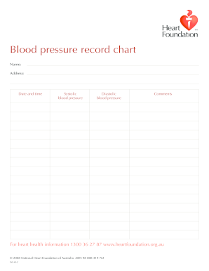 photograph about Blood Pressure Log Printable called 22 Printable Blood Stress Log Kinds and Templates
