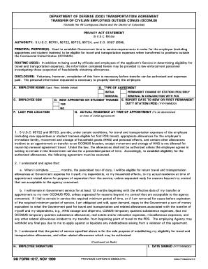 Transportation Agreement Form - Fill Online, Printable, Fillable ...