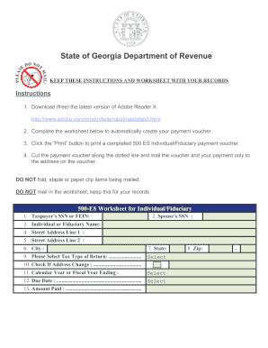 1099 form georgia  Georgia 10es - Fill Online, Printable, Fillable, Blank ...