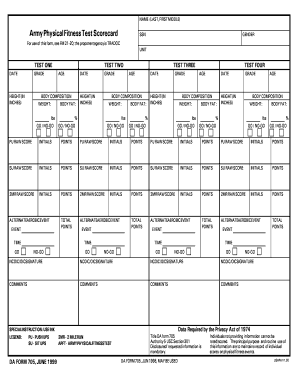Army Body Fat Worksheet