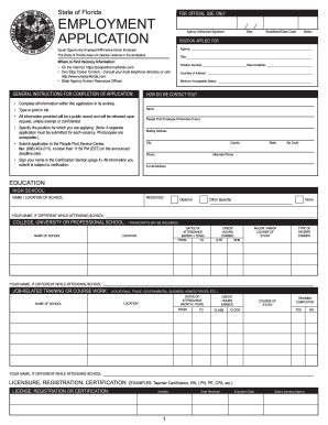 100420194-florida-employment-application Job Application Form Template Australia Word Format Hgzpft on