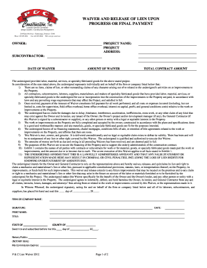 Lien Release Forms - Contractors State License Board - State of ...