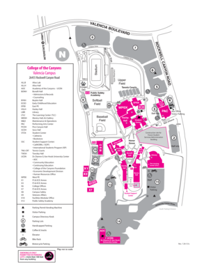 College Of The Canyons Campus Map Fillable Online csub College of the Canyons Campus Map   csub Fax