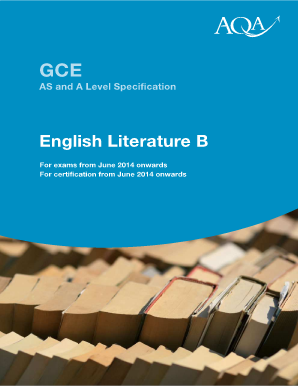 AQA | AS and A-level | English Literature B | Past papers and mark