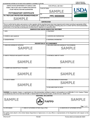 Fillable Online Aphis Usda Ppq Form 577 Aphis Aphis Usda Fax
