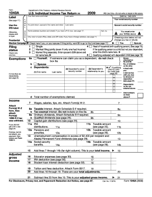 2009 form irs 1040 schedule eic fill online printable for 1040a tax table 2013 pdf