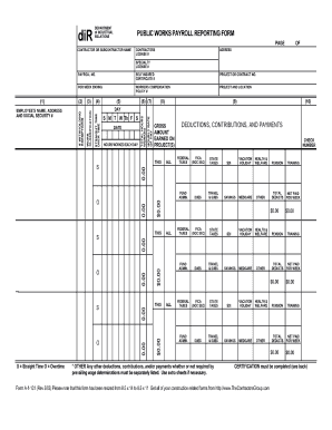Bill Of Sale Form California Public Works Payroll Reporting Form ...