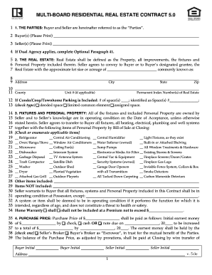 Bill Of Sale Form Illinois Residential Real Estate Contract