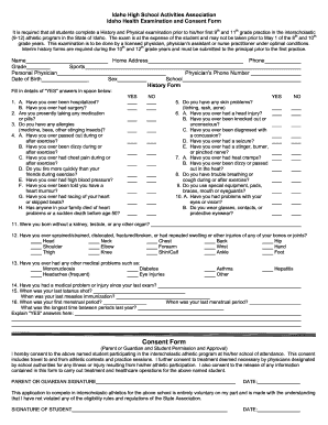 Fillable School Physical Form - Fill Online, Printable, Fillable ...