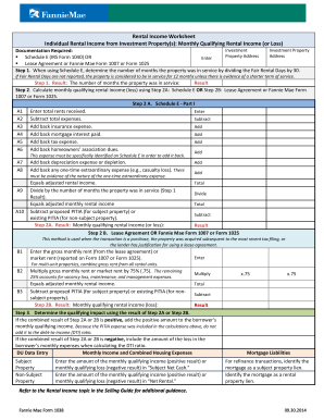 Printables Rental Income Worksheet income worksheet form fill online printable fillable blank worksheet