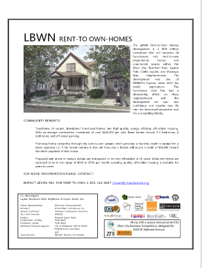 LBWN RENT-TO OWN-HOMES - Impact Seven - impactseven