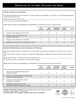 Dash Questionnaire Pdf - Fill Online, Printable, Fillable, Blank ...