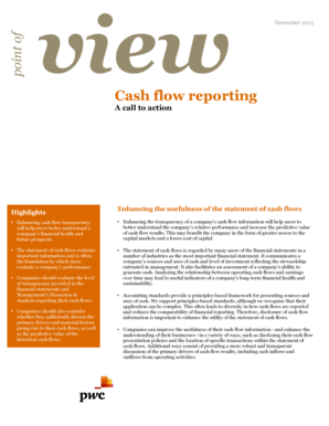 Download: Point of view: Cash flow reporting - PwC