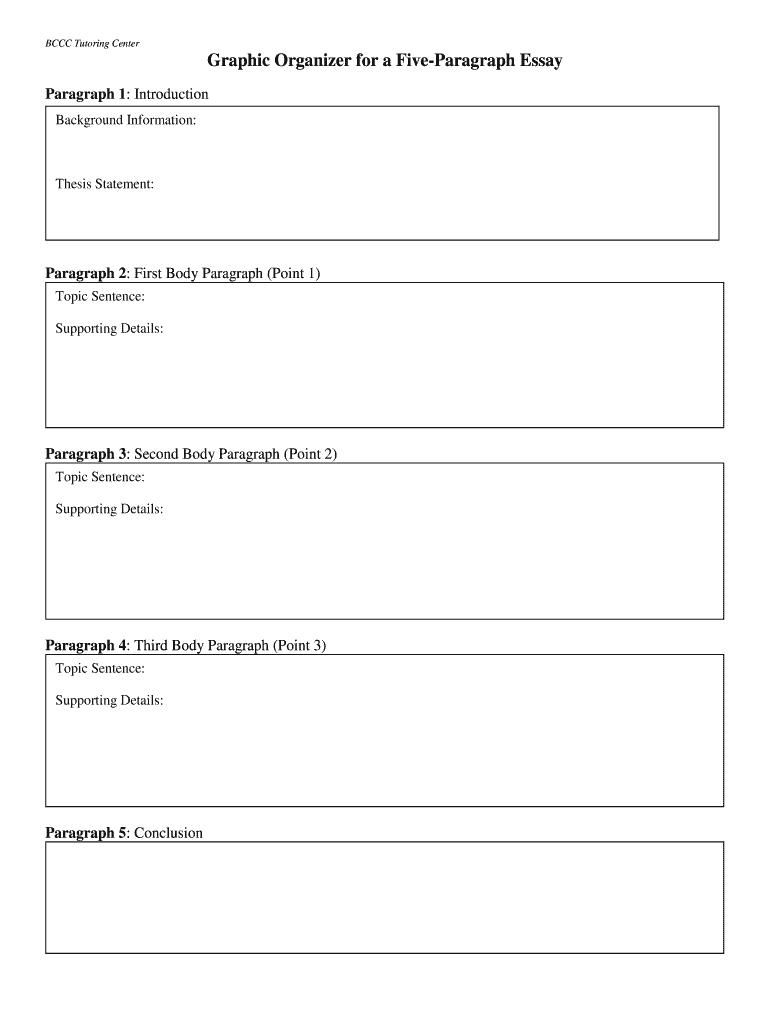Essay organizer online