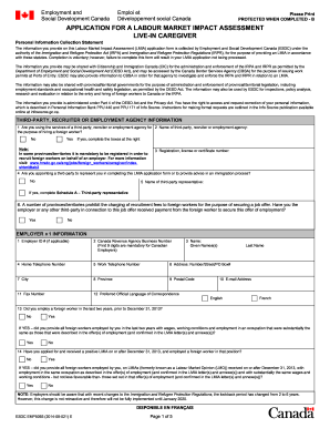 Letter of complaint to employer forms and templates fillable lmia form spiritdancerdesigns Image collections