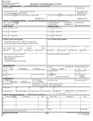 Standard Form 52 - New York State Division of Military and ...