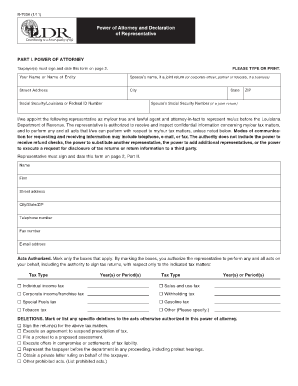 Fillable Online revenue louisiana Form R-7006 - Louisiana ...