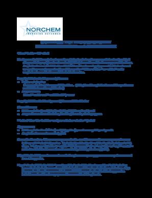 Fillable Online BILL ALLEN - Norchem Drug Testing Laboratory