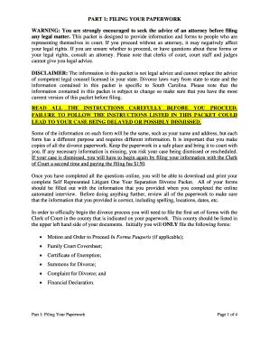 divorce affidavit sample uk - Fillable & Printable Templates