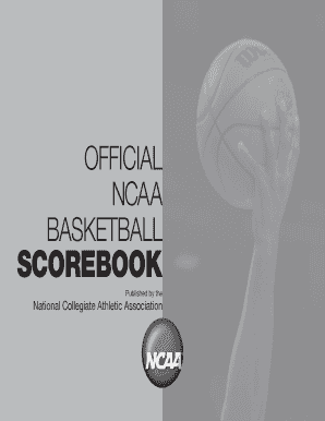 ncaa basketball scorebook form