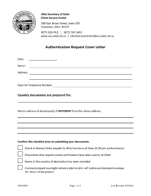 Secretary resume cover letter forms and templates - Us department of state office of authentication ...