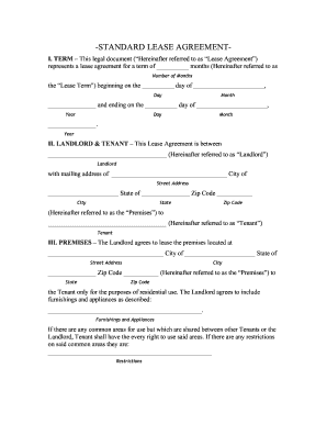 oklahoma lease agreement word document form