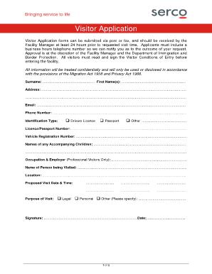 100447109 Visitor Application Form on pdf big exhibit n, correctional rehabilitation, register printable, visa canada application, printable version mexico,