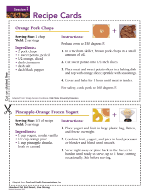 Recipe Cards (link is external)