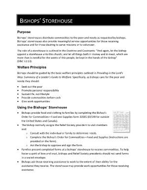 Bishops Storehouse Order Form Pdf - Fill Online, Printable ...