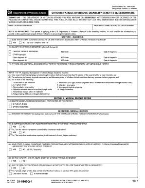 fillable va form 21 4138  Va Form 21 0960q 1 - Fill Online, Printable, Fillable, Blank | PDFfiller