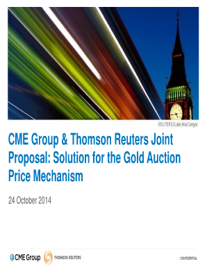 CME Group PowerPoint Template. Forms/Publications