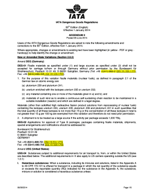 iata dangerous goods regulations pdf
