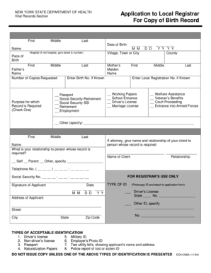 Fillable Online Doh 296a Fax Email Print Pdffiller