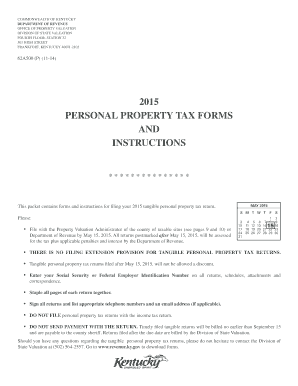 2015-2017 Form KY DoR 62A500 (P) Fill Online, Printable, Fillable ...