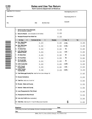 2010-2017 Form NC DoR E-500 Fill Online, Printable, Fillable ...
