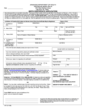 2011-2017 Form AR VR-7 Fill Online, Printable, Fillable, Blank ...