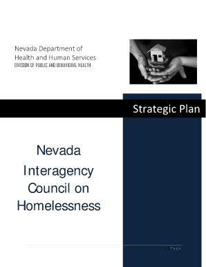 ICH Strategic Plan Template - Nevada State Health Division