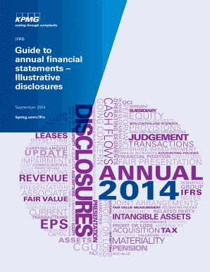 Guide to annual financial statements Illustrative