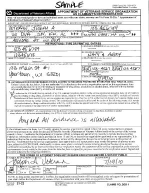 Va Form 21 22 Cogu Lessecretsdeparis Co
