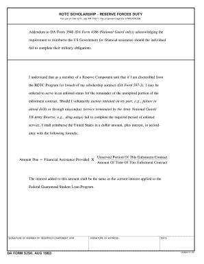 da form 3540 Da 3540 - Fill Online, Printable, Fillable, Blank | PDFfiller
