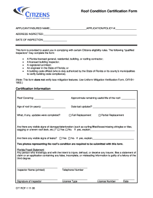 2008 Form Citizens Rcf 1 Fill Online Printable Fillable