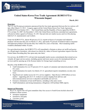 certificate of origin us korea free trade agreement template
