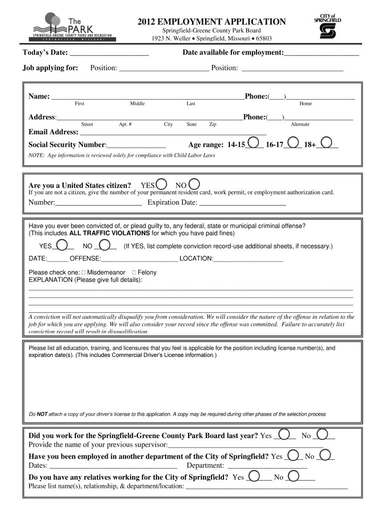 large Job Application Form Driver on part time, free generic, sonic printable, blank generic, big lots,