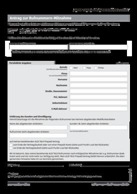 Alditalk Email