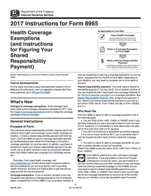 Form 8965 2014 Fill Online Printable Fillable Blank Pdffiller