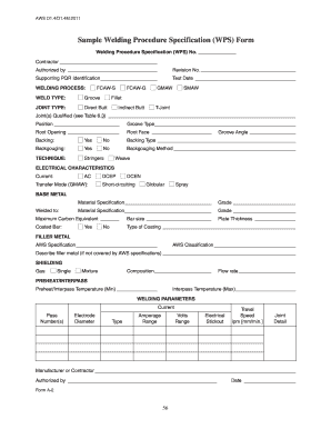 Welder Certificate Format Fill Online Printable Fillable Blank
