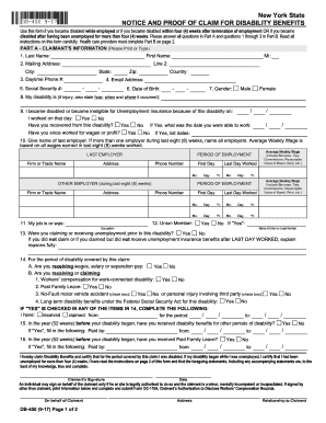 ca state disability forms