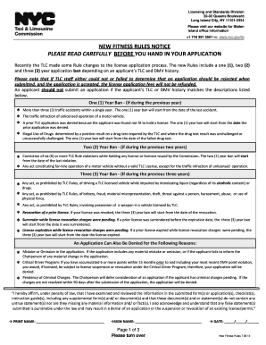 unemployment nyc tlc license application